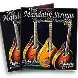 2 SETS! Adagio Professional Acoustic Mandolin Strings - Phosphor Bronze Wound