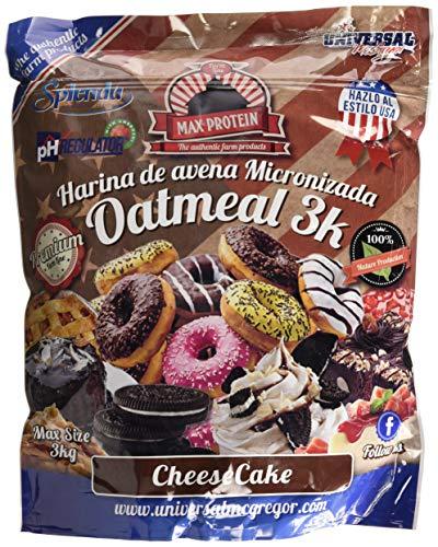 Max Protein Oatmeal Sac Harina de Avena, Termo Activada   3000 gr