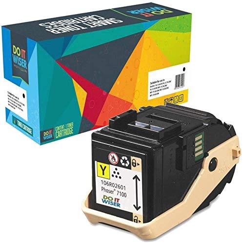 Do it Wiser Toner Kompatibel für Xerox Phaser 7100 7100N 7100DN | 106R02601 (Gelb)