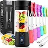 Zulay Portable Blender For Shakes And Smoothies - USB Rechargeable Portable Smoothie Blender Small...