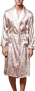 4bec1926a8 BoBo-88 Camicia da Notte da Uomo di Lusso Uomo da da Camicia Notte Unique