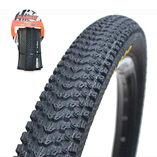 【US Stock】 MAXXIS M333 26/27.5/291.95/2.1 Fold/Unfold MTB Tires 60TPI Bicycle Wheel Clincher Tire, Non-Slip Anti-Puncture Resistant Flimsy Mountain Bike Wire Bead Tyre