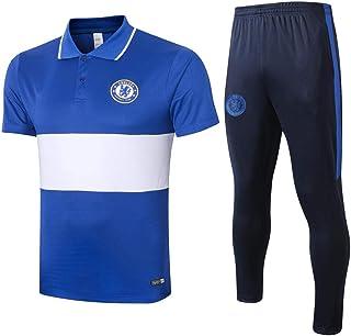 XunZhiYuan Maillot dentra/înement de Football Costume /à Manches Longues Combinaison dentra/înement Respirante et absorbante pour la Sueur Uniforme de Jersey Costume de Football