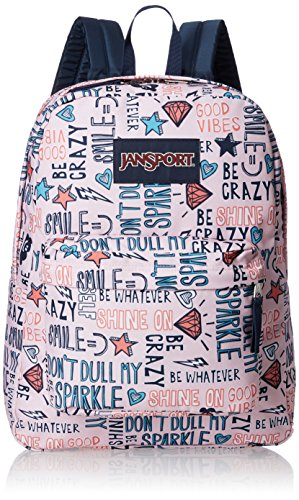 JANSPORT Superbreak, – Mochila – Sintético Shine On Talla única