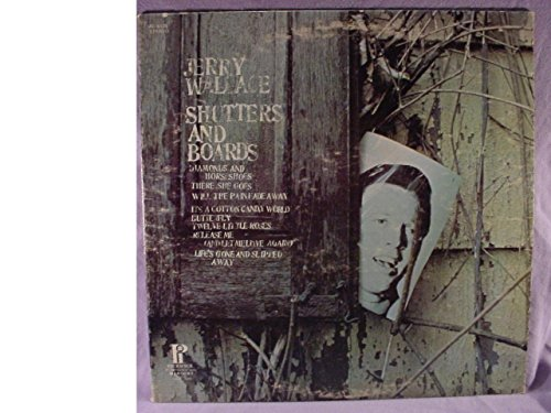 Jerry Wallace - Shutters And Boards - Hilltop - JS-6125 - Canada - Still In Shrinkwrap - Near Mint (NM or M-)/Very Good Plus (VG+) - LP, Comp, RE