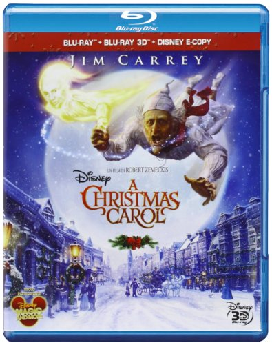 A Christmas Carol (2009) (3D) (Blu-Ray+Blu-Ray 3D+E-Copy) [Italia] [Blu-ray]