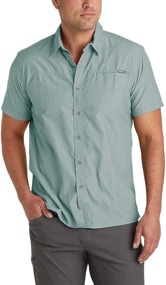 Eddie Bauer Men's Rainier Short-Sleeve Shirt