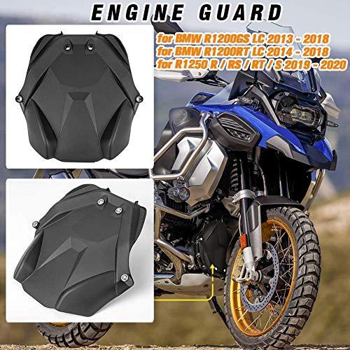 Lorababer Protector de placa de protección de carcasa de motor delantero de motocicleta para B.M.W R1200GS LC (2013-2018), R1200RT LC (2014-2018), R1250 R/RS/RT/S (2019-2020)