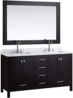 cherry wood bathroom vanity