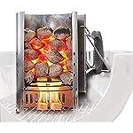 Weber 17631 Chimney Starter Set & Briquettes 8kg