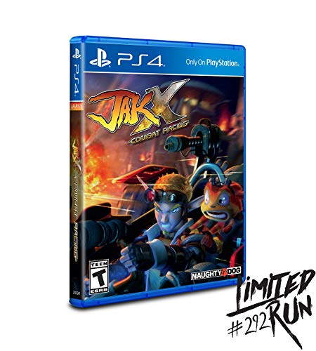 Jak X: Combat Racing for PlayStation 4 (Limited Run Games #292) - PS4