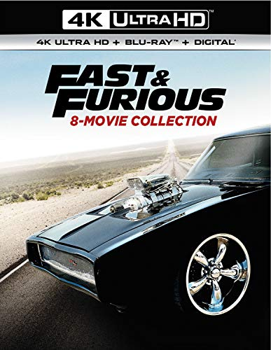 Fast & Furious 8-Movie Collection (4K Ultra Hd/Blu-Ray/Digital)