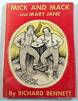 Hardcover Mick and Mack and Mary Jane (Junior books) Book