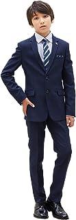 [ELLE en noir(エルアンノワール)] 卒業式 男の子 4901-5600 シャドーストライプスキニースーツ 150 160 170cm