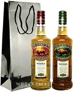 Geschenkidee ubrówka Winterwodkas   Polnische Wodka-Besonderheit   je 0,5 Liter, 37,5% Alkoholgehalt