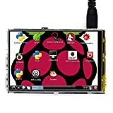 Accesorios electrónicos LGmin Waveshare 3.5 Pulgadas 320x480 Pantalla táctil TFT LCD para Raspberry Pi
