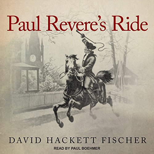 Paul Revere's Ride audiobook cover art