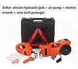 Gowe Treuil électrique hydraulique multifonction 3 tonnes 12 V avec gonfleur à air Sedan 3 tonnes (fonction anti-gel)