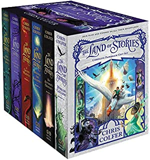 The Land of Stories Complete Paperback Gift Box Set 6 Books Collection by Chris Colfer