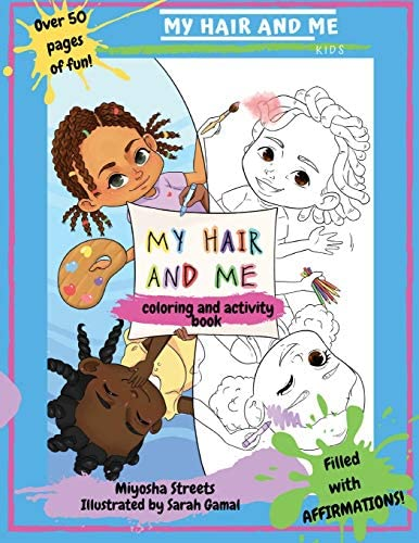 My Hair and Me Coloring and Activity Book product image
