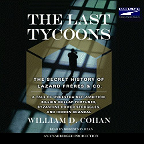 Couverture de The Last Tycoons