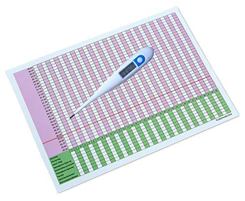 Thermomètre Basal Digital - lecture précise à 2 décimales. Voir aussi nos tests d'ovulation