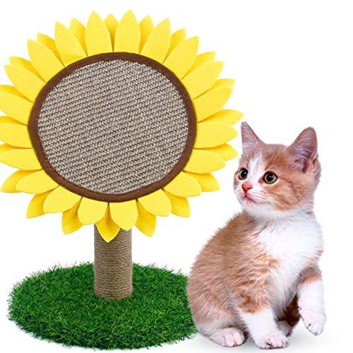 pawstrip Kratzbaum für Katzen, aus natürlichem Sisal, niedlich, interaktiv,...