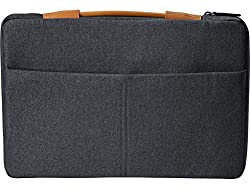HP Envy Urban 15.6 Inch Sleeve for Laptops and Notebooks with Secure RFID Blocking Pocket (Gray),hp,3KJ70AA#ABB
