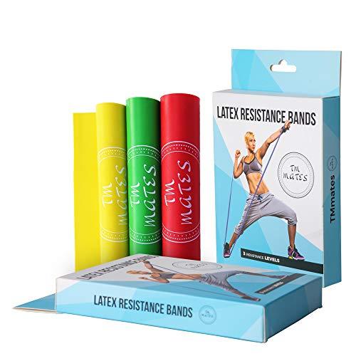 Bande Elastiche Fitness (Set di 3) Elastici Fitness per Allenamento...