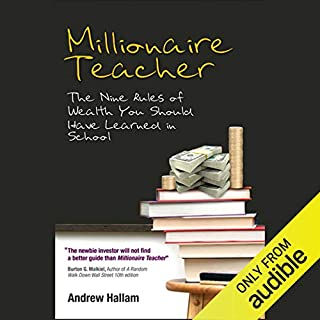 Millionaire Teacher audiobook cover art