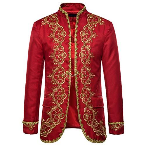 Plot Herren Anzug Jacke Gothic Sticken Steampunk Mantel Vintage Uniform Kostüm Praty Outwear Männer Schlank Herbst Winter Trenchcoat Blazer