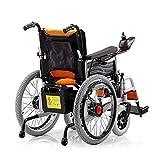 Guotail Silla de Ruedas eléctrica, Vespa eléctrica para los Ancianos Vespa, portátil Plegable para Personas de Movilidad Reducida para los Ancianos, cómodo y Seguro de Viaje