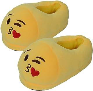 354d5023a579d Amazon.fr   emoji - Chaussons   Chaussures femme   Chaussures et Sacs