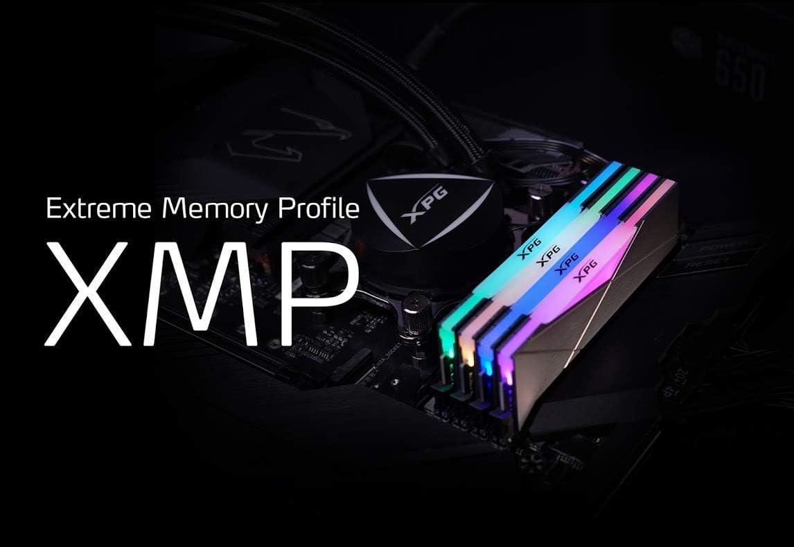 XPG SPECTRIX D50 RGB Gaming Memory: 16 GB (2 x 8 GB) DDR4 3200 MHz CL16 Gris : Amazon.com.mx: Electrónicos