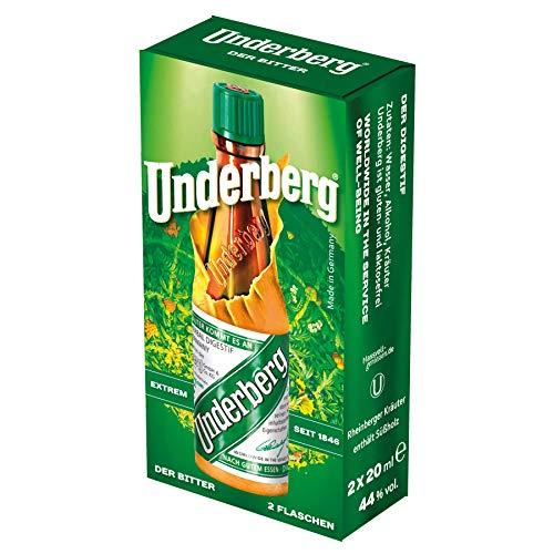 Underberg – Der Magenbitter aus Rheinberg (2 x 0.02 l)