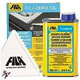 Rimuovi silicone ZEROSIL Rimuove residui di silicone, colla, nastro adesivo, vecchie etichette e residui di schiuma poliuretanica