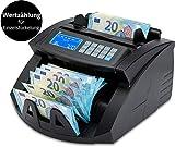 ZZap nc20i–Contador de billetes & Detector de dinero falso–Cuenta 1000billetes...