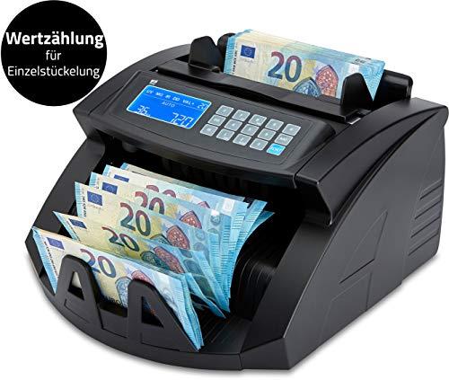 ZZap nc20i–Contador de billetes & Detector de dinero falso–Cuenta 1000billetes por minuto, Ramo de zählung, 5aumentos, detección de dinero falso y mucho...