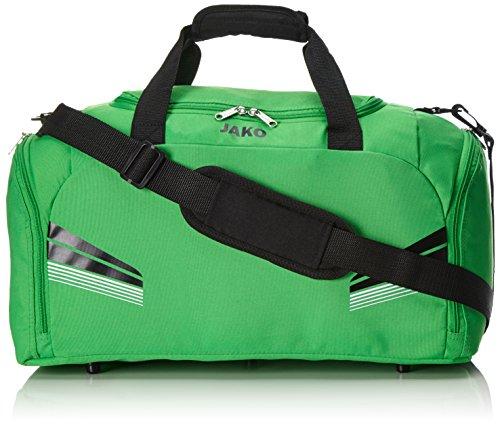 JAKO Sporttasche Pro Taschen Ohne Bodenfach, Soft Green/Schwarz/Weiß, 50 x 28 x 28 cm, 39.2 Liter