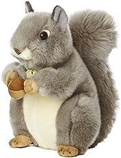 "Aurora World Miyoni Grey Squirrel 8\\"" Plush"