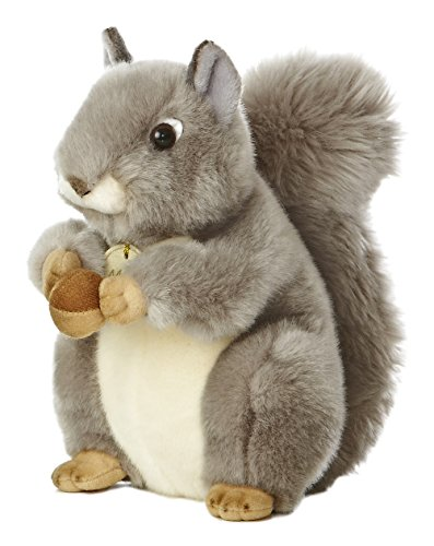 Aurora World Miyoni Grey Squirrel 8' Plush
