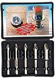 Kraftmann 50410 50410-Set estrattori per Viti, 0-#3, 5 Pezzi, Colore:, Size