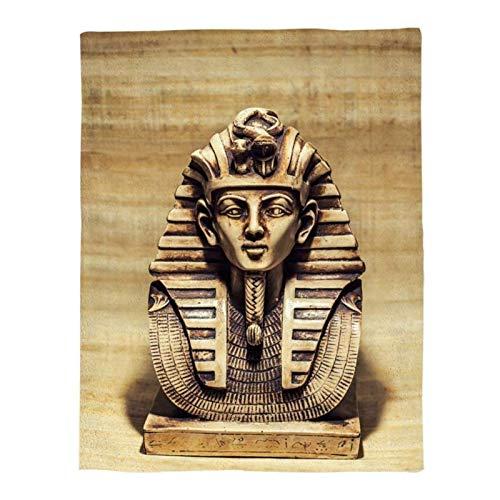 Puzzles para niños Edad 4-6, Rompecabezas de Rompecabezas para niños, crucigramas para Adultos, Rompecabezas de 1000 Pedazos para Adultos Navidad, Faraón de Egipto, 50x75cm