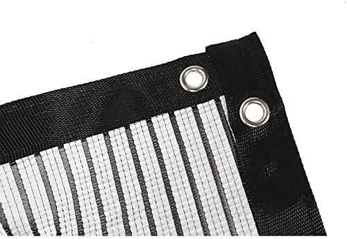 Tissu Shade, résistant aux UV Net, Sun-Block ombre for les plantes en tissu Mesh Net Ombre Tissu Taped bord avec Œillets for couverture végétale à effet de serre Grange Kennel Piscine ( Size : 2mx7m )