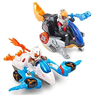 VTech Switch & Go Dinos Lava Force - Speedy Riders and Dinos 2-pack