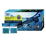 Green Killing Machine GKM24W Internal UV with Power Head & Two Pack Replacement Sponge (3 Items)
