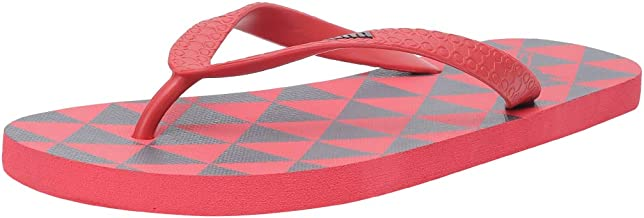 Puma Unisex's Monk Gu Idp High Risk Red-Dark Shadow Flip-Flops