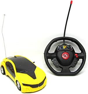 Car Remote control for children yellow with light
