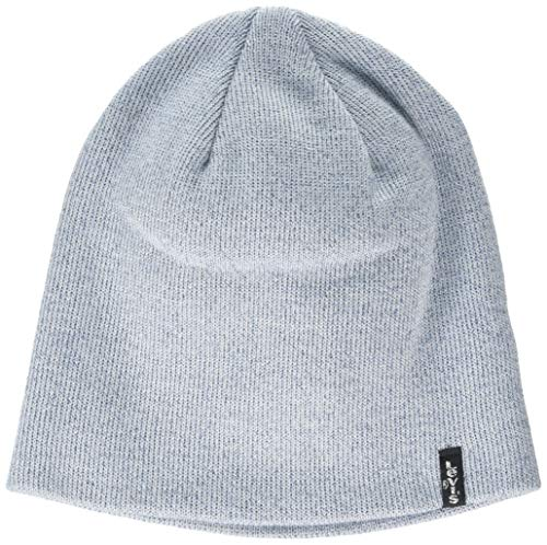 Levi's Damen Lurex Otis Beanie Strickmütze, Blau (Light Blue 13), Medium...