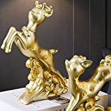 Zoom IMG-2 j mmiyi cervo scultura moderna